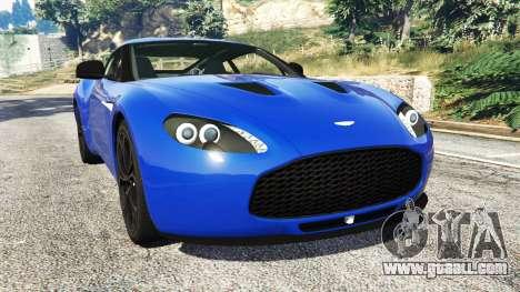 Aston Martin V12 Zagato for GTA 5