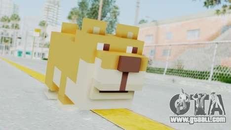 Crossy Road - Doge for GTA San Andreas