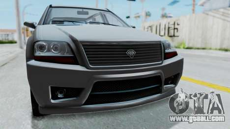 GTA 5 Benefactor Serrano IVF for GTA San Andreas back view