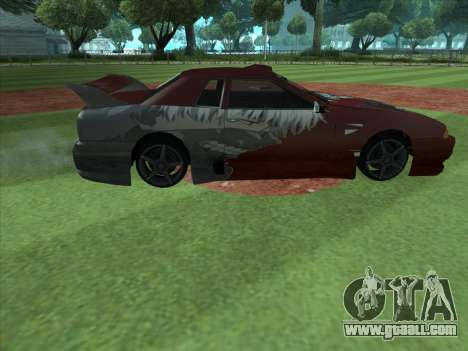 The Ghoul Elegy Vinyl (Beta) for GTA San Andreas left view