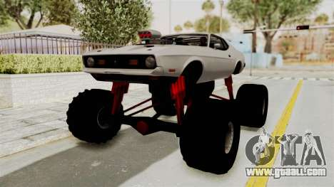 Ford Mustang 1971 Monster Truck for GTA San Andreas