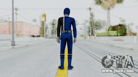 Power Rangers S.P.D - Blue for GTA San Andreas third screenshot