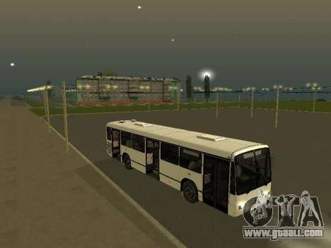 Mercedes-Benz O345 for GTA San Andreas back left view