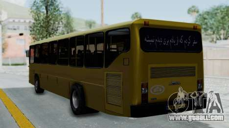Mercedes-Benz Old Iranian Bus for GTA San Andreas left view
