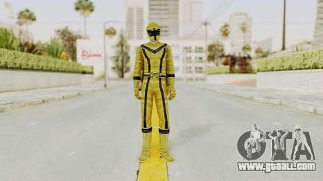 Power Rangers Mystic Force - Yellow for GTA San Andreas second screenshot