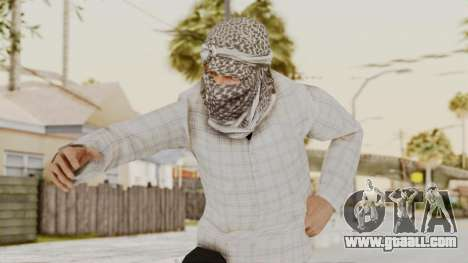 Middle East Insurgent v3 for GTA San Andreas
