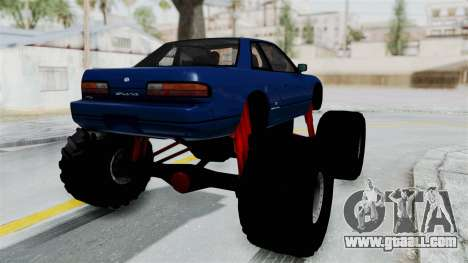 Nissan Silvia S13 Monster Truck for GTA San Andreas right view