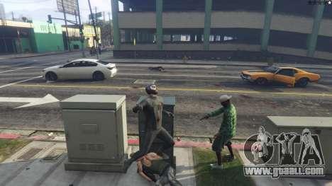 GTA 5 Amazing Spiderman - black suit seventh screenshot