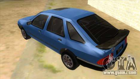 Ford Sierra 1.6 GL Updated for GTA San Andreas back left view