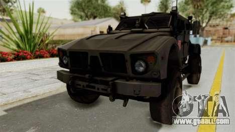 Croatian Oshkosh M-ATV Desert for GTA San Andreas right view
