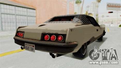 Lobo Custom for GTA San Andreas back left view