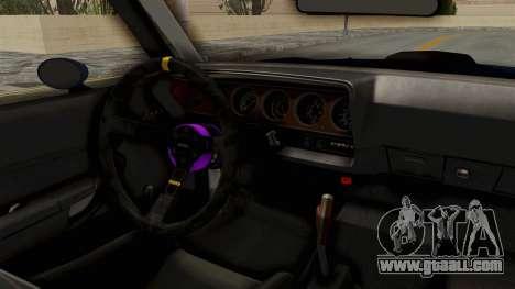 Plymouth Hemi Cuda 1971 Drag for GTA San Andreas back view