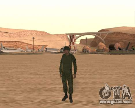 Private motorized rifle troops for GTA San Andreas third screenshot