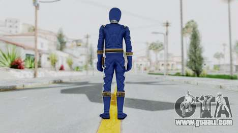 Power Rangers Dino Thunder - Blue for GTA San Andreas third screenshot