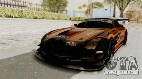 Mercedes-Benz SLS AMG GT3 PJ4 for GTA San Andreas side view
