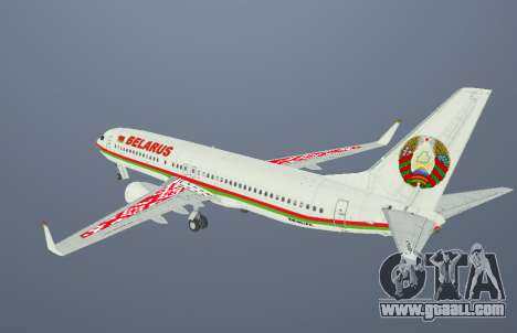 Boeing 737-800BBJ2 EW-001PA for GTA San Andreas