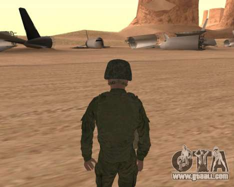 Private motorized rifle troops for GTA San Andreas forth screenshot
