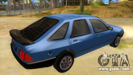 Ford Sierra 1.6 GL Updated for GTA San Andreas