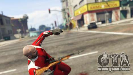 GTA 5 Self-loading carbine Simonov sixth screenshot