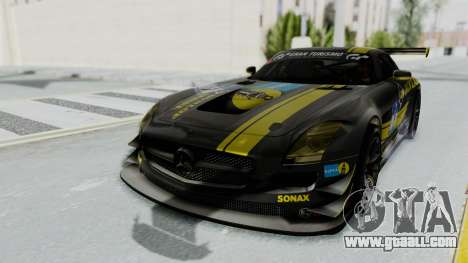 Mercedes-Benz SLS AMG GT3 PJ7 for GTA San Andreas engine