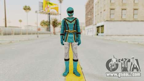Power Rangers Mystic Force - Blue for GTA San Andreas second screenshot