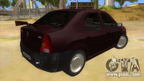 Dacia Logan Sport for GTA San Andreas right view