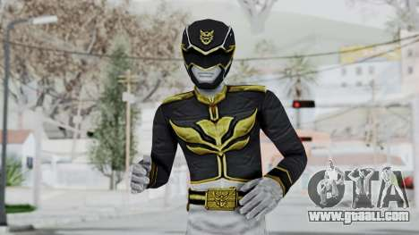 Power Rangers Megaforce - Black for GTA San Andreas