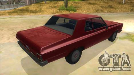 1965 Plymouth Belvedere 2-door Sedan for GTA San Andreas right view