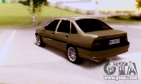 Opel Vectra A for GTA San Andreas left view