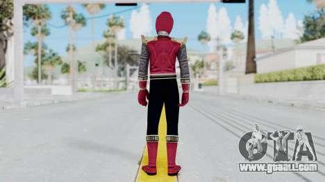 Power Rangers Ninja Storm - Crimson for GTA San Andreas third screenshot