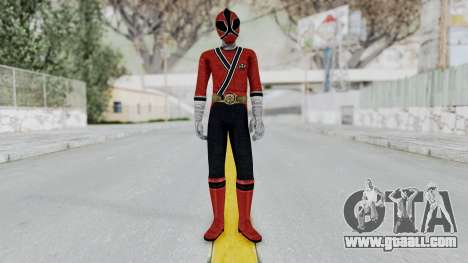 Power Rangers Samurai - Red for GTA San Andreas second screenshot