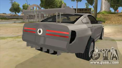Ford Mustang for GTA San Andreas right view