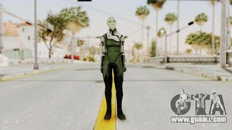 Mass Effect 2 Shiala for GTA San Andreas second screenshot