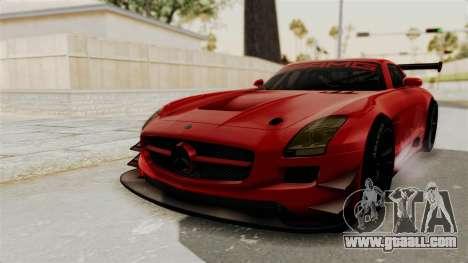 Mercedes-Benz SLS AMG GT3 PJ2 for GTA San Andreas back left view