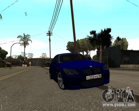 BMW M5 E60 v1.0 for GTA San Andreas