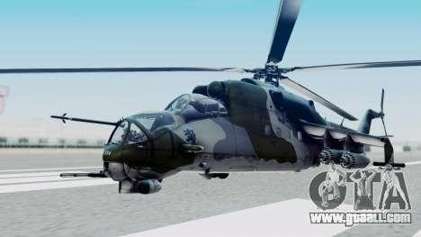 Mi-24V Czech Air Force 7354 for GTA San Andreas