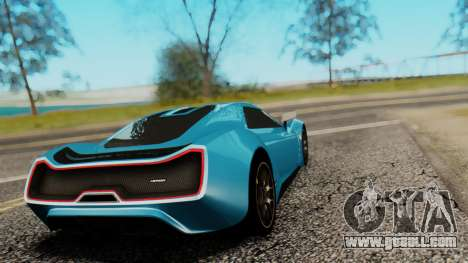 Trion Nemesis RR v0.1 Beta for GTA San Andreas left view