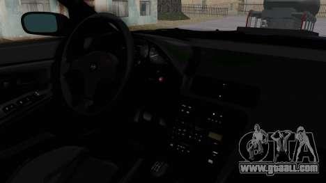Nissan Silvia S13 Monster Truck for GTA San Andreas inner view