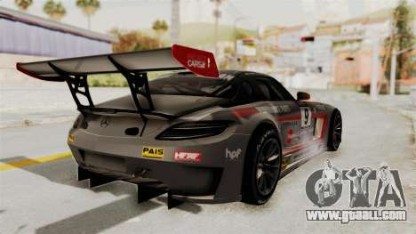 Mercedes-Benz SLS AMG GT3 PJ2 for GTA San Andreas bottom view