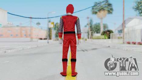 Power Rangers Ninja Storm - Red for GTA San Andreas third screenshot