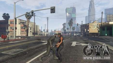 GTA 5 Amazing Spiderman - black suit fourth screenshot