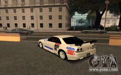 Nissan Skyline R33 Tunable for GTA San Andreas inner view