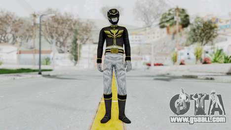 Power Rangers Megaforce - Black for GTA San Andreas second screenshot
