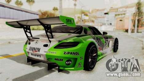 Mercedes-Benz SLS AMG GT3 PJ2 for GTA San Andreas