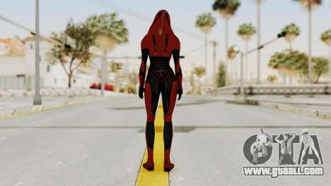 Mass Effect 2 Kasumi Red for GTA San Andreas third screenshot