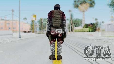 Black Mesa - Wounded HECU Marine Medic v1 for GTA San Andreas third screenshot
