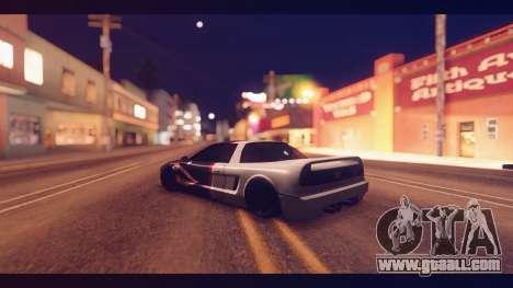 Infernus Shark Edition by ZveR v1 for GTA San Andreas left view
