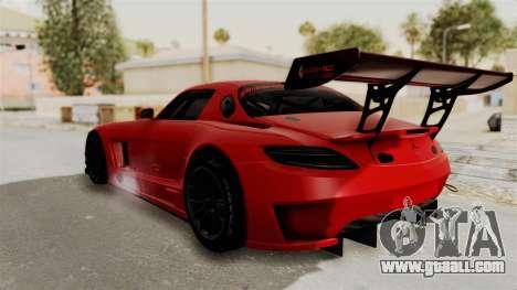 Mercedes-Benz SLS AMG GT3 PJ2 for GTA San Andreas left view