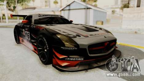 Mercedes-Benz SLS AMG GT3 PJ2 for GTA San Andreas interior