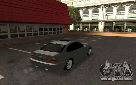BMW M3 E46 Tunable for GTA San Andreas left view